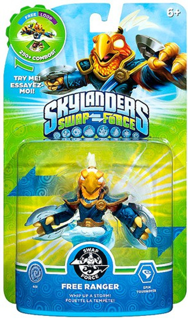 Skylanders Swap Force Swappable Free Ranger Figure Pack