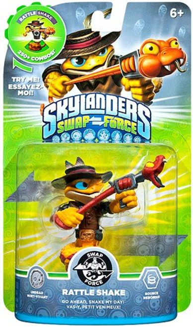 Skylanders Swap Force Swappable Rattle Shake Figure Pack