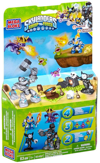 Mega Bloks Skylanders Swap Force Collector's Edition Pack Exclusive Set #95482