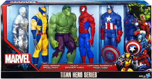 Thor The Dark World Titan Hero Series Action Figure 6-Pack
