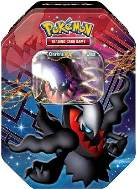Pokemon Black & White Reissue Legendary EX Darkrai Collector Tin