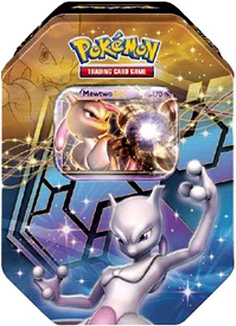 Pokemon Black & White Reissue Legendary EX Mewtwo Collector Tin