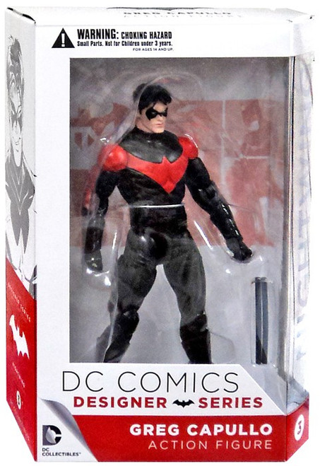 DC Comics Batman Designer Greg Capullo Series 1 Nightwing Action Figure #3