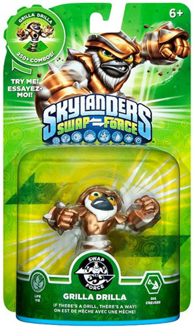 Skylanders Swap Force Swappable Grilla Drilla Figure Pack
