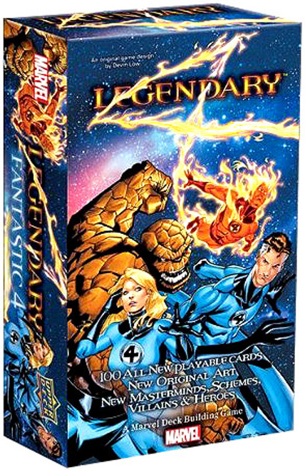 Marvel Legendary Fantastic Four Deck Building Game Expansion