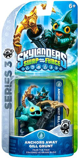 Skylanders Swap Force Series 3 Gill Grunt Figure Pack [Anchors Away]