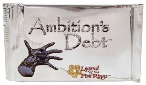 Legend of the Five Rings Ambition's Debt Unicorn Deck
