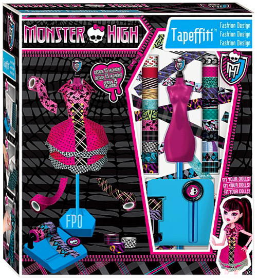 Monster High Tapeffiti Fashion Design Exclusive 10.5-Inch Doll Playset