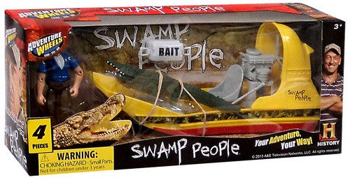 Adventure Wheels Swamp People Action Figure Set