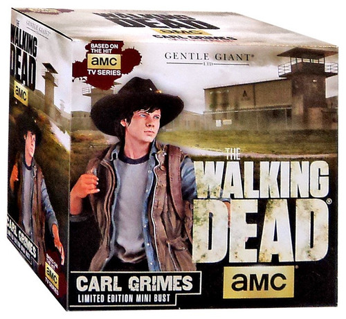 The Walking Dead AMC TV Statues & Busts Carl Grimes Mini-Bust