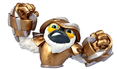Skylanders Swap Force Loose Grilla Figure [Upper Body Loose]