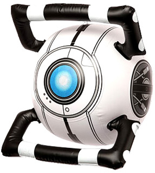 Portal 2 Personality Core Wheatley Inflatable Toy