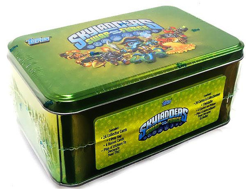 Skylanders Swap Force Trading Card Tin