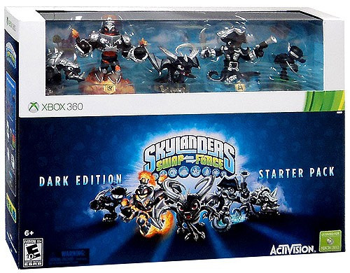 Skylanders xBox 360 Swap Force Starter Pack [Dark Edition]