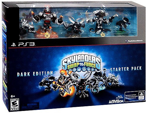 Skylanders PS3 Swap Force Starter Pack [Dark Edition]