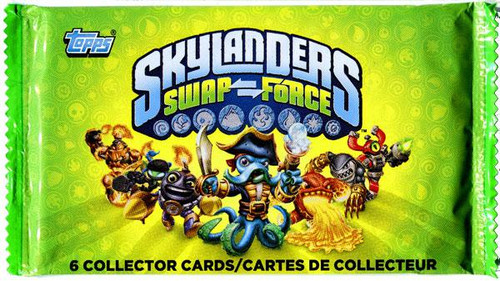 Skylanders Swap Force Trading Card Pack