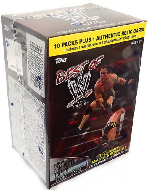 WWE Wrestling 2013 Best of WWE Trading Card Box [Blaster Box]