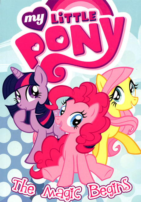 My Little Pony Friendship is Magic The Magic Begins Parts 1 & 2 Comic Book