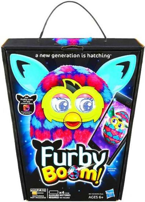 Furby Boom! Blue & Pink Hearts Figure