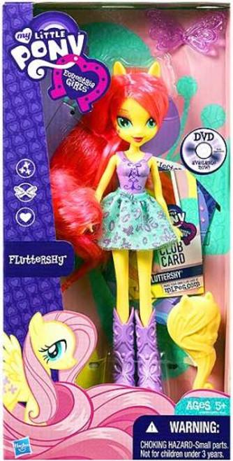 My little pony equestria girl dolls fluttershy - photo#50