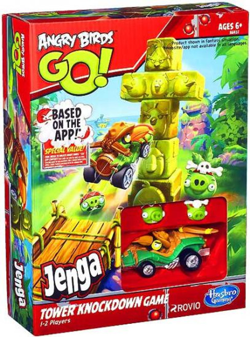 Angry Birds GO! Jenga Tower Knockdown Game