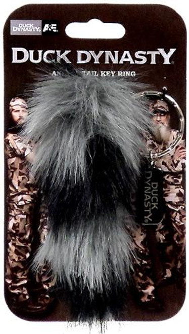 Duck Dynasty Animal Tail Raccoon Keychain