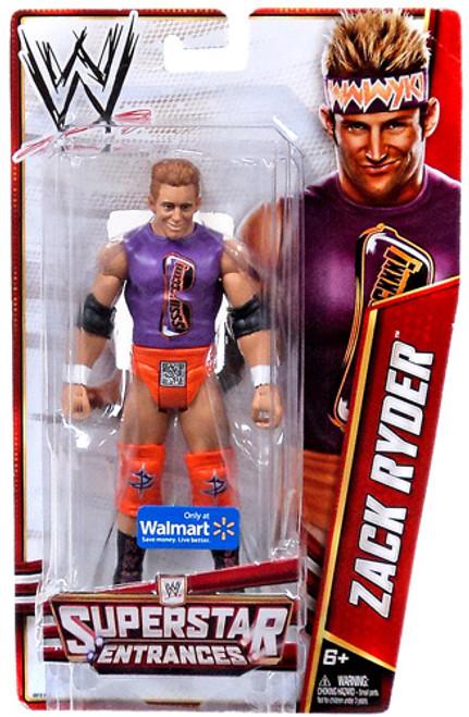 WWE Wrestling Superstar Entrances Zack Ryder Exclusive Action Figure