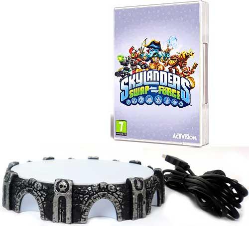 Skylanders Swap Force Wii Base Set Video Game [Loose]