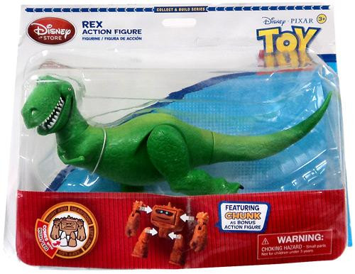 Disney Toy Story Collect and Build Chunk Rex Exclusive Action Figure