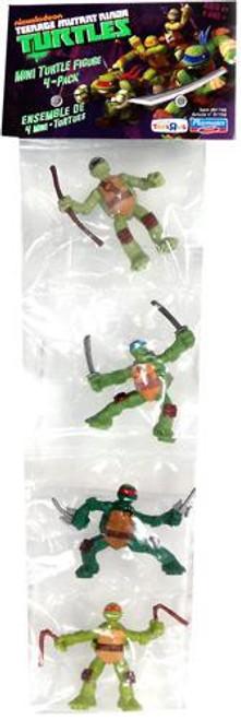 Teenage Mutant Ninja Turtles Nickelodeon Michelangelo, Donatello, Raphael & Leonardo Exclusive 2-Inch Mini Figure Set