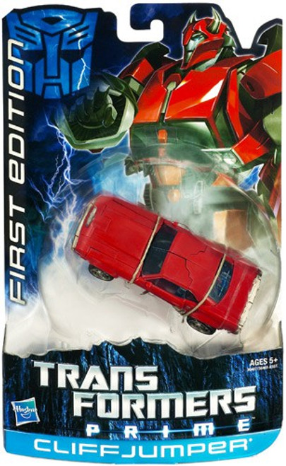 Transformers Prime First Edition Deluxe Cliff Jumper Deluxe Action Figure