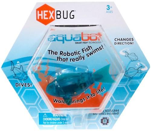 Hexbug Aquabot Teal Fish 3-Inch Electronic Pet