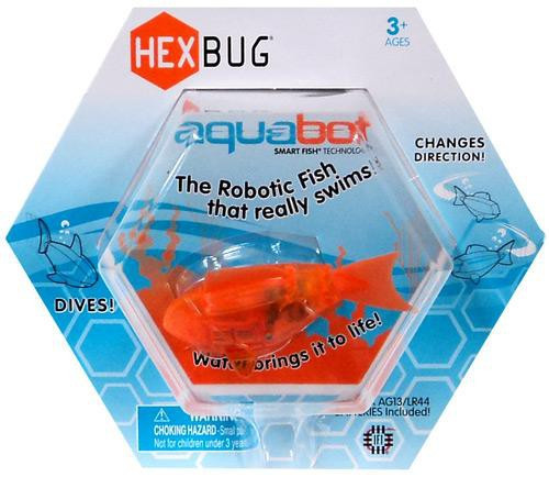 Hexbug Aquabot Orange Fish 3-Inch Electronic Pet
