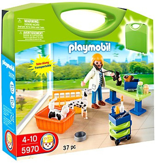 Playmobil Vet Clinic Carry Case Set #5970