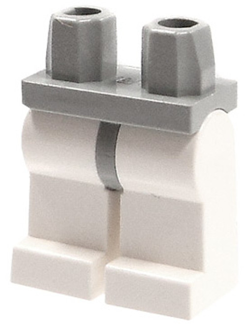 LEGO Star Wars Minifigure Parts Gray Hips & White Legs Loose Legs [Loose]