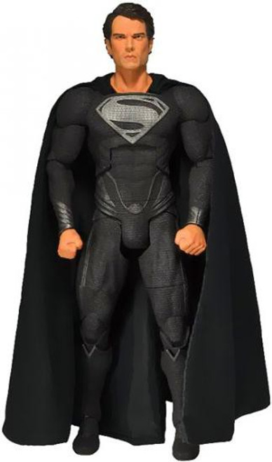 NECA Man of Steel Quarter Scale Superman Action Figure [Black Costume]