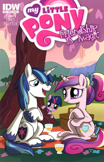 My Little Pony Friendship is Magic Comic Book #12 [Cover B]