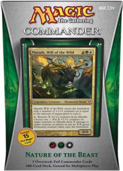 MtG Commander 2013 Nature of the Beast EDH Deck [Sealed Deck]