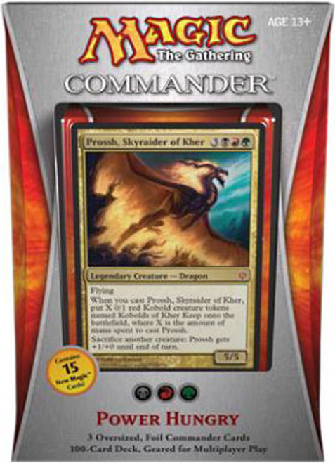 MtG Commander 2013 Power Hungry EDH Deck [Sealed Deck]