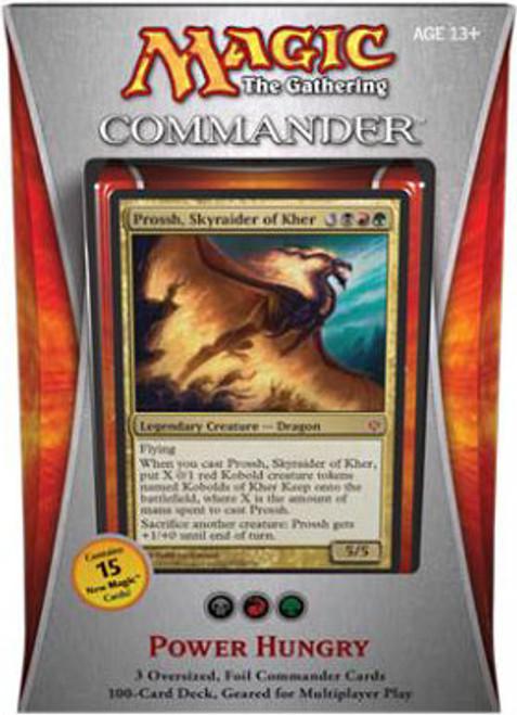 MtG Commander 2013 Power Hungry EDH Deck [Sealed Deck]
