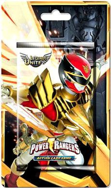Power Rangers Action Card Game Legends Unite Booster Pack