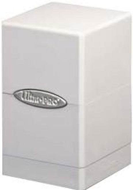Ultra Pro Card Supplies Satin Tower White Deck Box
