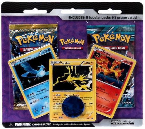 Black & White Pokemon Booster 2-Pack [Legendary Birds] [Sealed]