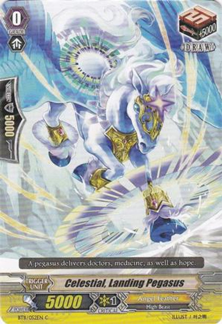 Cardfight Vanguard Seal Dragons Unleashed Common Celestial, Landing Pegasus BT11/052