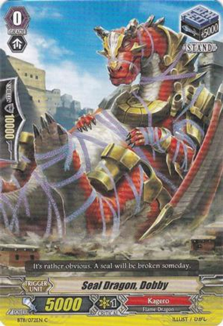 Cardfight Vanguard Seal Dragons Unleashed Common Seal Dragon, Dobby BT11/072