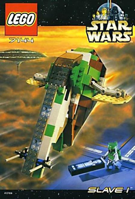 LEGO Star Wars The Empire Strikes Back Boba Fett's Slave I Set #7144 [New]