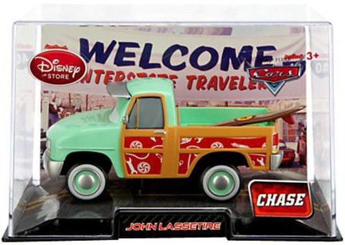 Disney Cars 1:43 Collectors Case John Lassetire Exclusive Diecast Car [Chase Edition]