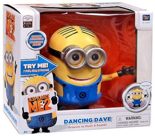 Despicable Me 2 Singing Dancing Dave Action Figure
