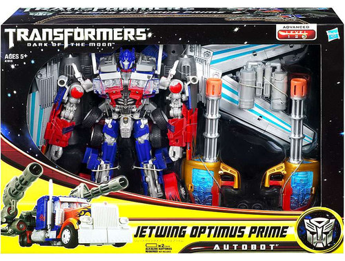 Transformers Dark of the Moon Leader Jetwing Optimus Prime Leader Action Figure