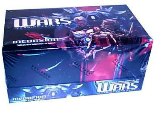 Wars Trading Card Game Incursion Starter Box